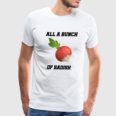 Bunch Bunch of radish - Men's Premium T-Shirt