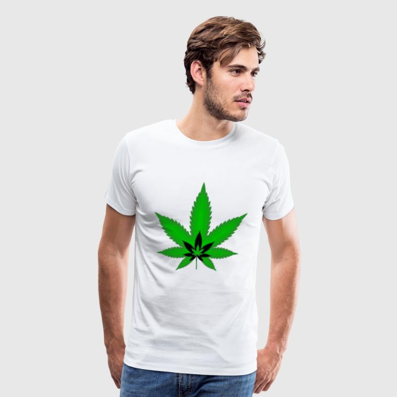 Tri Cannabis - Men's Premium T-Shirt