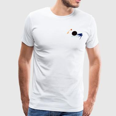 Wave Logo - Men's Premium T-Shirt