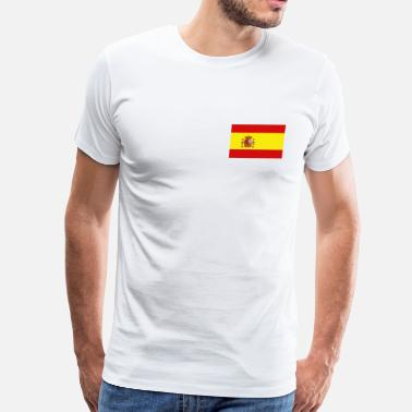 Flags Spain Spain Flag - Men's Premium T-Shirt