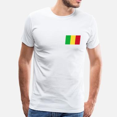 Mali Mali Flag - Men's Premium T-Shirt