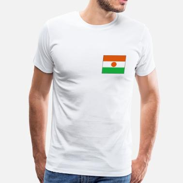 Niamey Niger Flag - Men's Premium T-Shirt