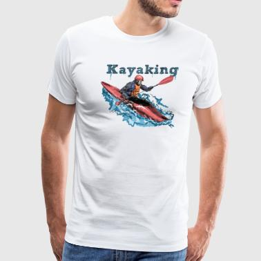 Kayak - Men's Premium T-Shirt