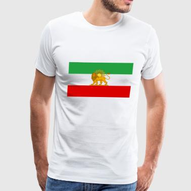 Flag of Iran - Men's Premium T-Shirt