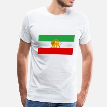 Persia Iran Flag of Iran - Men's Premium T-Shirt