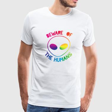 ALIEN COLORS DESIGN - Men's Premium T-Shirt