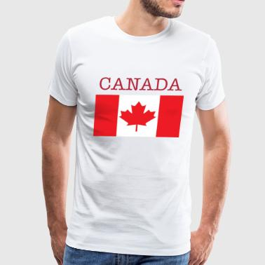 Men's Premium T-Shirt - America,Europe,North,North America,canada,charlie,country,flag,middle east,symbol