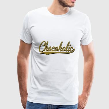 chocoholic - Men's Premium T-Shirt