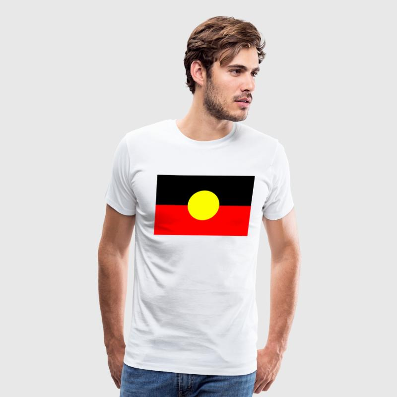 ABORIGINAL FLAG - Men's Premium T-Shirt