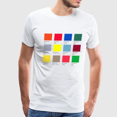 Pantone Pantone Colors - Men's Premium T-Shirt
