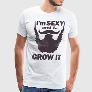 SEXY BEARD - Men's Premium T-Shirt