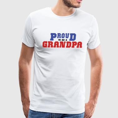 Proud Grandpa - Men's Premium T-Shirt