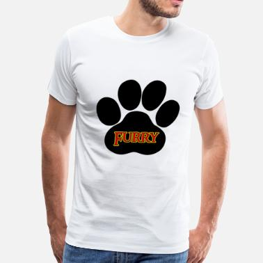 Zoophilia Furry Furries - Men's Premium T-Shirt