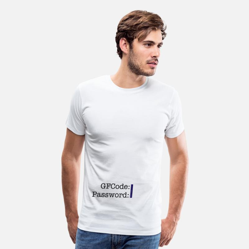 Login-preferences T-Shirts - Login - Men's Premium T-Shirt white