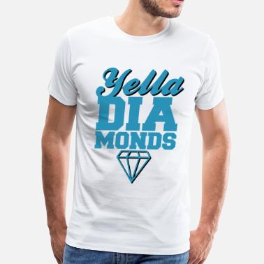Yella Yella Diamonds - Men's Premium T-Shirt