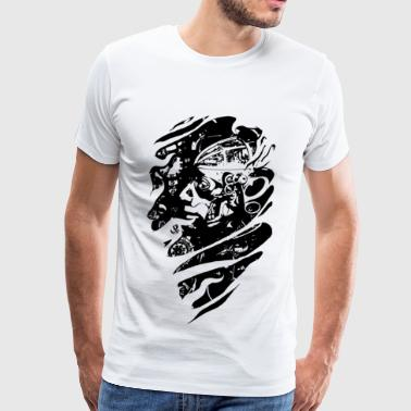Steampunked Millennial  - Men's Premium T-Shirt