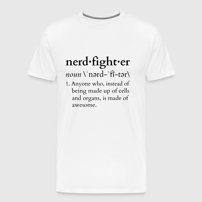 Nerdfighter Definition - Men's Premium T-Shirt