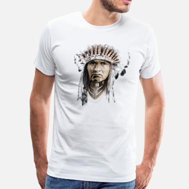 Cherokee Indian indian - Men's Premium T-Shirt