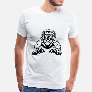African Lion lion - Men's Premium T-Shirt