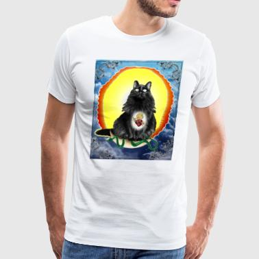 Virgin Titania Cat - Men's Premium T-Shirt