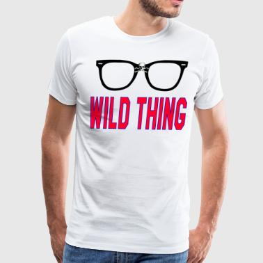 Wild Thing - Major League - Men's Premium T-Shirt