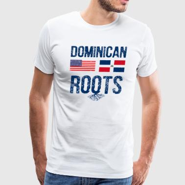 Dominican American designs - Men's Premium T-Shirt