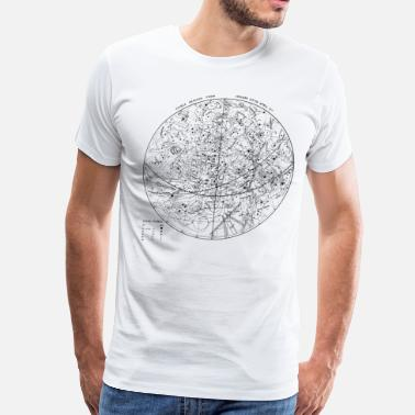 Astronomy Visible Heavens Star Map 1 - Men's Premium T-Shirt