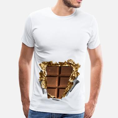 Six Pack six pack chocolate bar - Men's Premium T-Shirt
