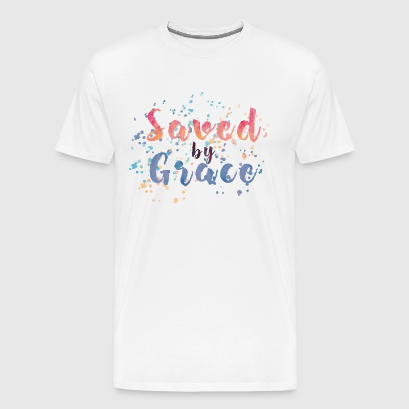 Saved by Grace - Men's Premium T-Shirt