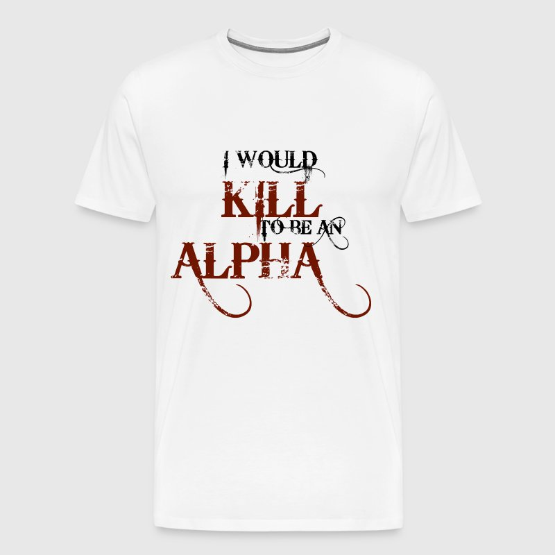 Teen Wolf - Alpha Wannabe - Men's Premium T-Shirt