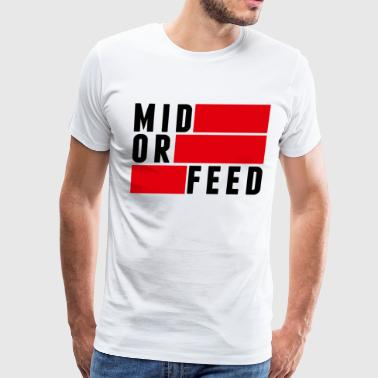 (midorfeed) - Men's Premium T-Shirt