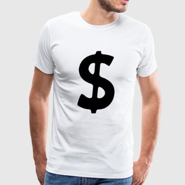 Dollar $ign - Men's Premium T-Shirt
