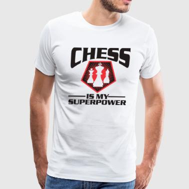 Chess Pieces Board Game Sport Gift Idea - Men's Premium T-Shirt