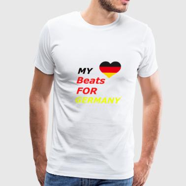 FAN Shirt Germany Soccer Gift - Men's Premium T-Shirt