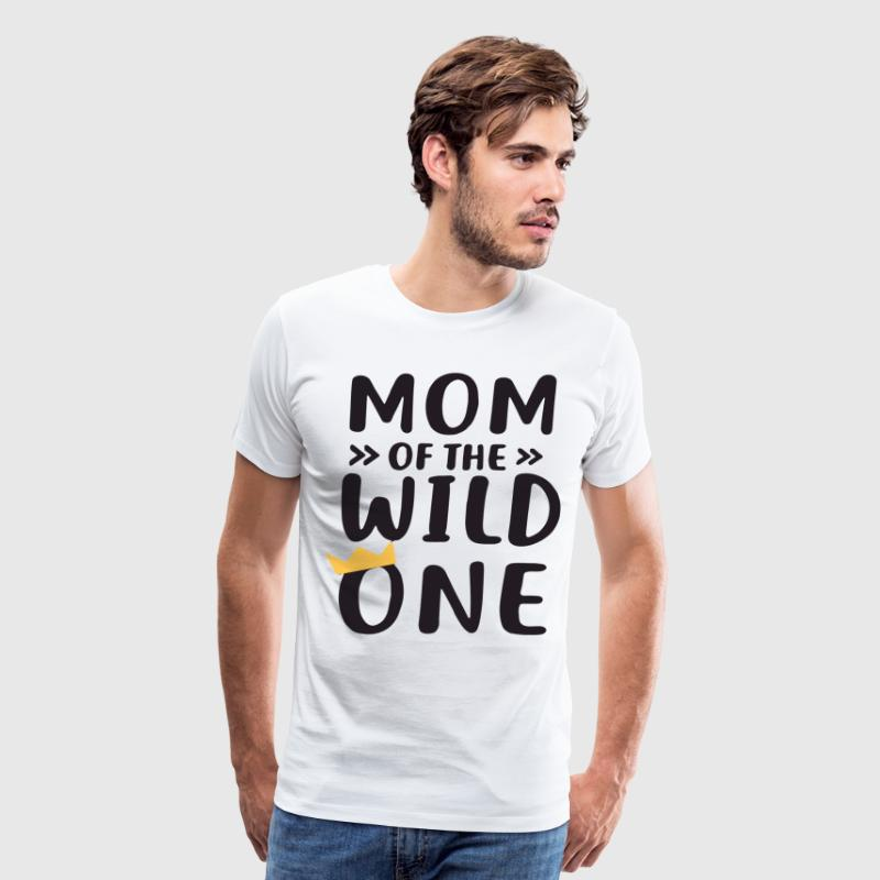 Mom and Dad of the Wild One Matching Wild and One - Men's Premium T-Shirt