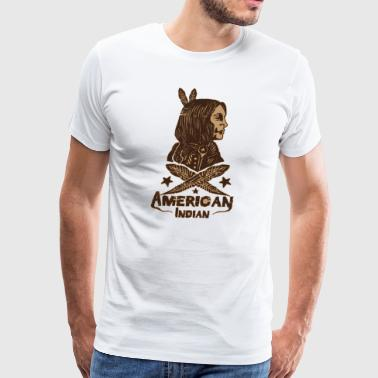american indian - Men's Premium T-Shirt