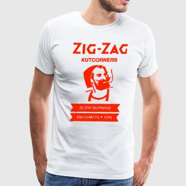 Zig Zag Rolling Papers - Men's Premium T-Shirt