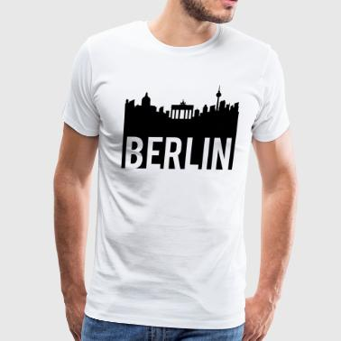 Berlin Skyline Berlin Skyline - Men's Premium T-Shirt