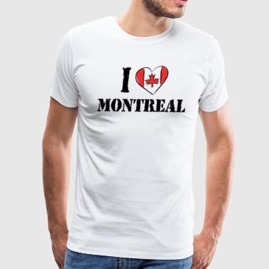 I Love Montreal - Men's Premium T-Shirt