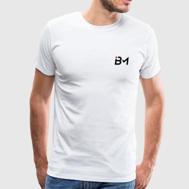 small bench mob logo no lettering (black) - Men's Premium T-Shirt