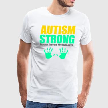 Autism Strong - Men's Premium T-Shirt