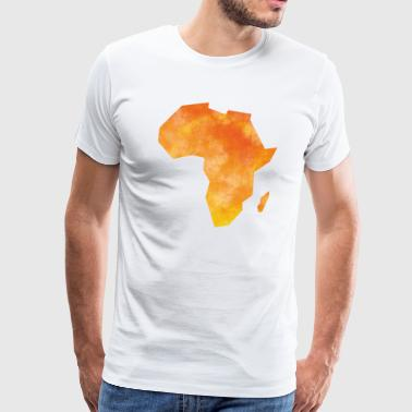 Map Africa - Men's Premium T-Shirt