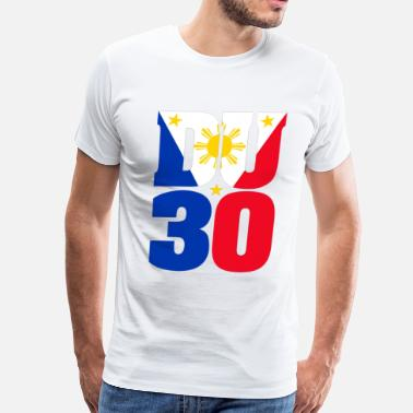 Duterte du30_flag - Men's Premium T-Shirt