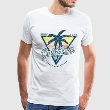Surf Club California Surf Club - Men's Premium T-Shirt