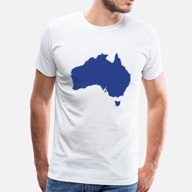 Mainland Australia - Men's Premium T-Shirt