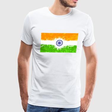 Indian Flag - Men's Premium T-Shirt