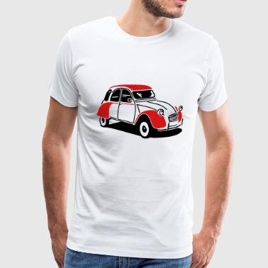 European Car 2cv citroen - Men's Premium T-Shirt
