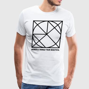 monsta x beautifull - Men's Premium T-Shirt