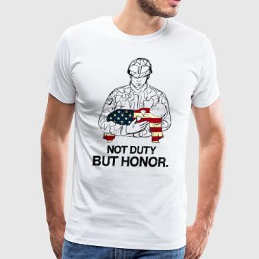 Not duty but honor - Men's Premium T-Shirt