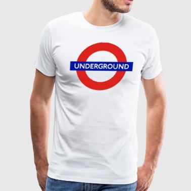 London Underground - Men's Premium T-Shirt